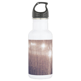 Malvenfarbene alienlichter trinkflasche