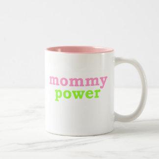 Mama-Power Zweifarbige Tasse
