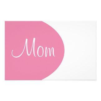 Mamma-Briefpapier Briefpapier