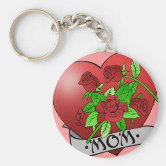 Mamma-Tätowierung Schlüsselanhänger