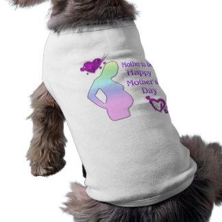 Mamma, zum Haustier-Kleidung der Mutter zu sein Ärmelfreies Hunde-Shirt