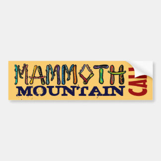 Mammoth Mountain Cali Snowboard-Autoaufkleber Autoaufkleber