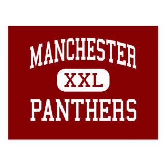 Manchester - Panther - Sekundarschule - Akron Ohio Postkarte