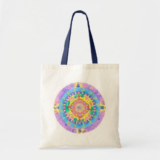 Mandala-Meditation Tragetasche