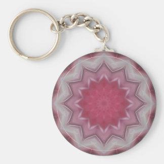 Mandala-Power der Liebe durch Christine Bässler Schlüsselanhänger