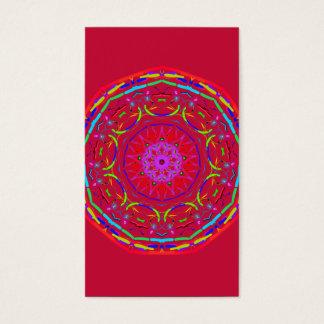 Mandala-Visitenkarten Visitenkarte