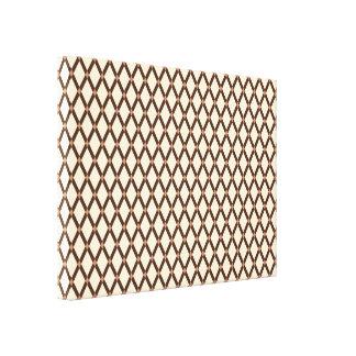 Mandel Diamant-Brown Rahmen wickelten Leinwand ein Gespannter Galeriedruck