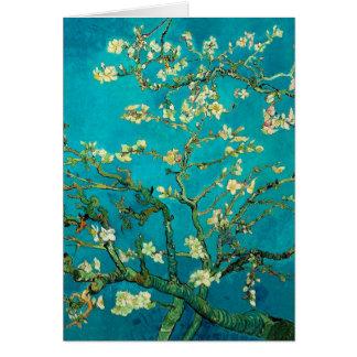 Mandelbaum-Blumenkunst Vincent van Goghs blühende Mitteilungskarte