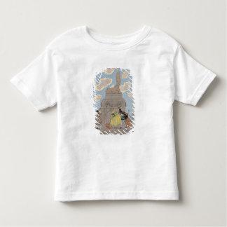 """Mandoline, Illustration für """"Partys Galantes"""" Kleinkinder T-shirt"""