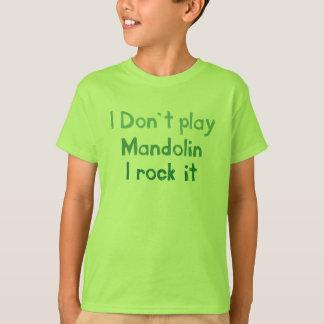 Mandolinen-Felsen es - Babys der Kindn T-Shirt