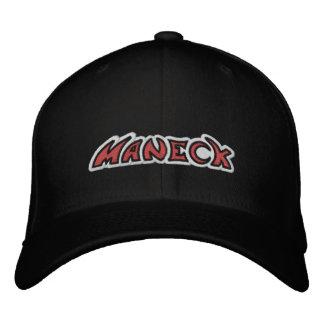 Maneck - gestickte angepasste Kappe maneckband.com Bestickte Baseballmützen