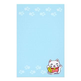 Maneki Neko glückliche Katze Briefpapier