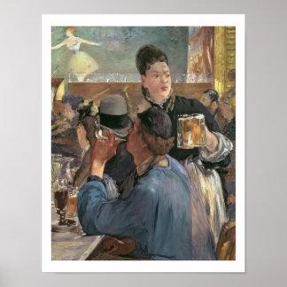 Manet | Ecke eines Café-Konzerts, 1878-80 Poster