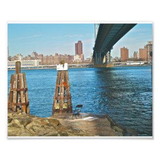 Manhattan-Brücke Kunstfoto