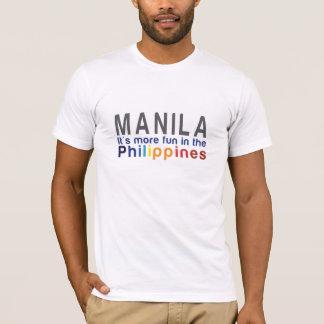 Manila. Es ist mehr Spaß im Philippinen-T - Shirt