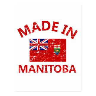 Manitoba-Wappen Postkarte