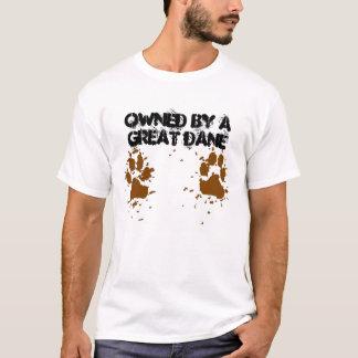 Männer besessen von einer Deutschen Dogge T-Shirt