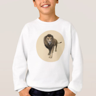 Männlicher Löwe Sweatshirt