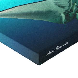 Mantaray 2 Leinwand Gespannter Galeriedruck