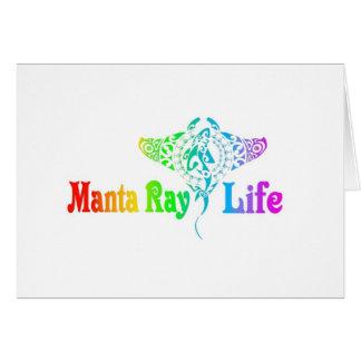 Mantarochen-Leben Karte
