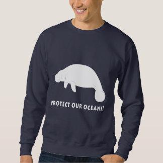 Mantees: Schützen Sie unsere Ozeane Sweatshirt