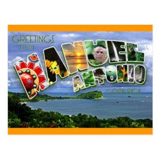 Manuel Antonio Postkarte