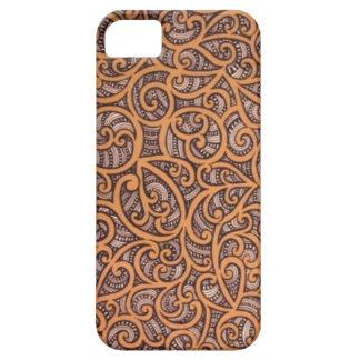 Maori- Entwurf iPhone 5 Etui