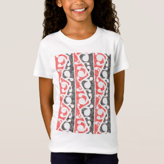 Maori- Kowhaiwhai beunruhigtes Muster T-Shirt