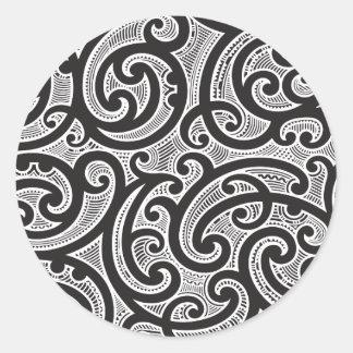maori tattoo sticker maori tattoo pickerl. Black Bedroom Furniture Sets. Home Design Ideas