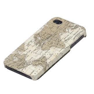 Mappemonde iPhone 4/4S Hülle