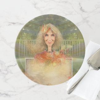 Märchen-Fall Tortenplatte