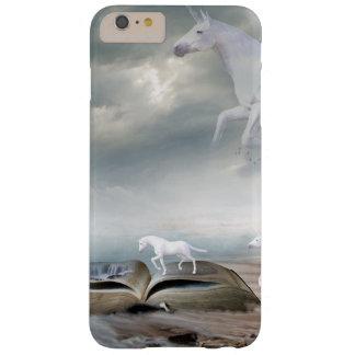 Märchen-weiße Einhörner, die Handy-Kasten fliegen Barely There iPhone 6 Plus Hülle