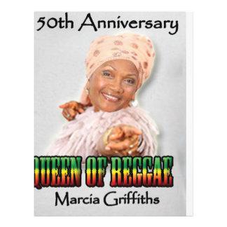 Marcia Griffiths der Jahrestag der Flyer