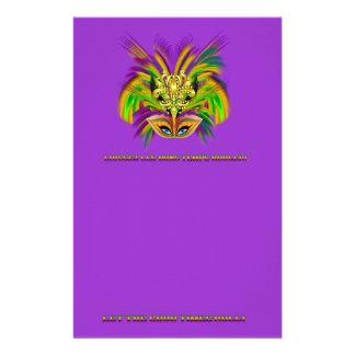 Mardi-Gras-Mask-The-Queen-V-2 Briefpapier