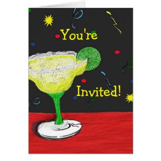 Margarita sind Sie eingeladene Karte