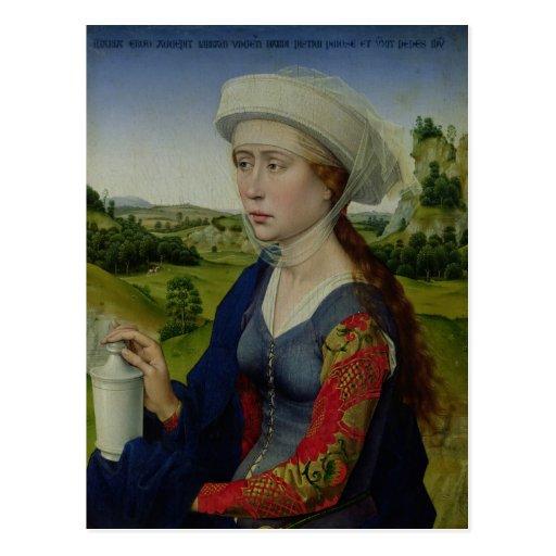 Maria Magdalena, von der rechten Platte Postkarten