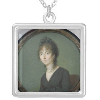 Marie-Laetitia Ramolino 1800 Halskette Mit Quadratischem Anhänger