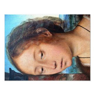 Marie-Madeleine religiöses Bild. Detail, durch Que Personalisierte Einladung