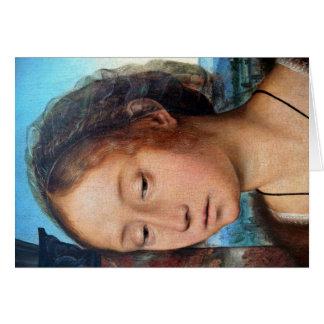 Marie-Madeleine religiöses Bild. Detail, durch Que Grußkarte