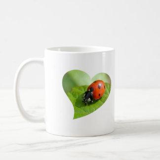 Marienkäfer und Klee Tasse