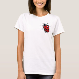 Marienkäfer: Wirkliche schauende Kunst: Insekt T-Shirt