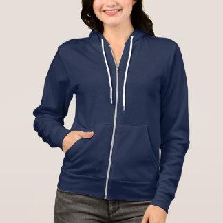 Marine-Blau:  KleiderflexFleece-ZipHoodie Hoodie