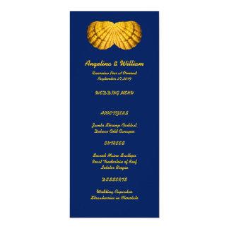 Hochzeitsmenüschablone Einladungen | Zazzle.at