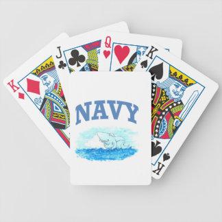 Marine-Haifisch Bicycle Spielkarten