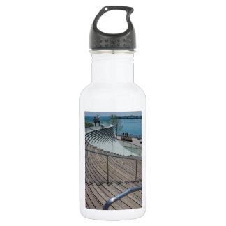 Marine-Pier-Treppe Trinkflasche