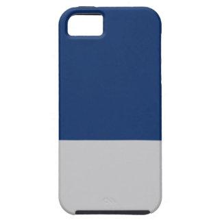 Marineblau und -silber schutzhülle fürs iPhone 5