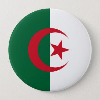 Marinefahne, Algerien Runder Button 10,2 Cm