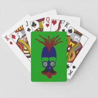 Markookoo große Augen Pokerdeck