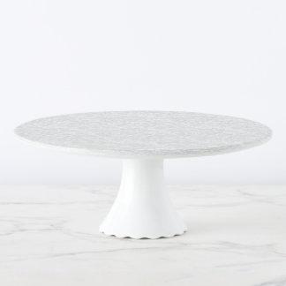 Marmor-Spott-Stilvoll-Gebäck-Kumpel Tortenplatte