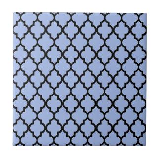 Marokkanischer Musterlavendel Kleine Quadratische Fliese